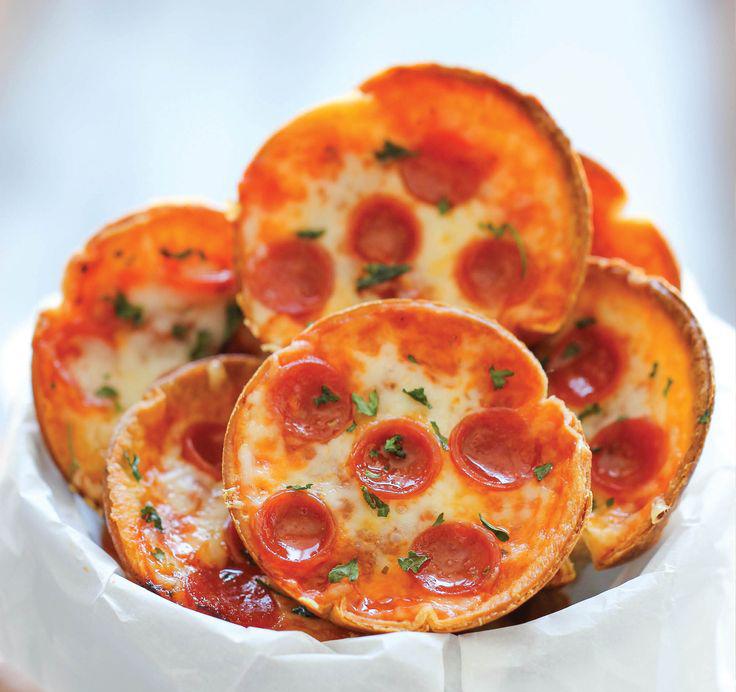 Домашние мини пиццы рецепт с фото